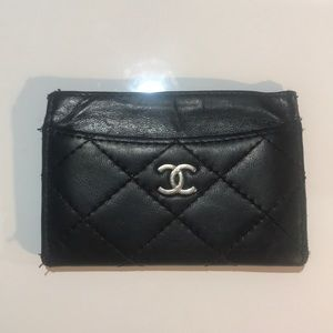 Vintage Chanel Card Holder
